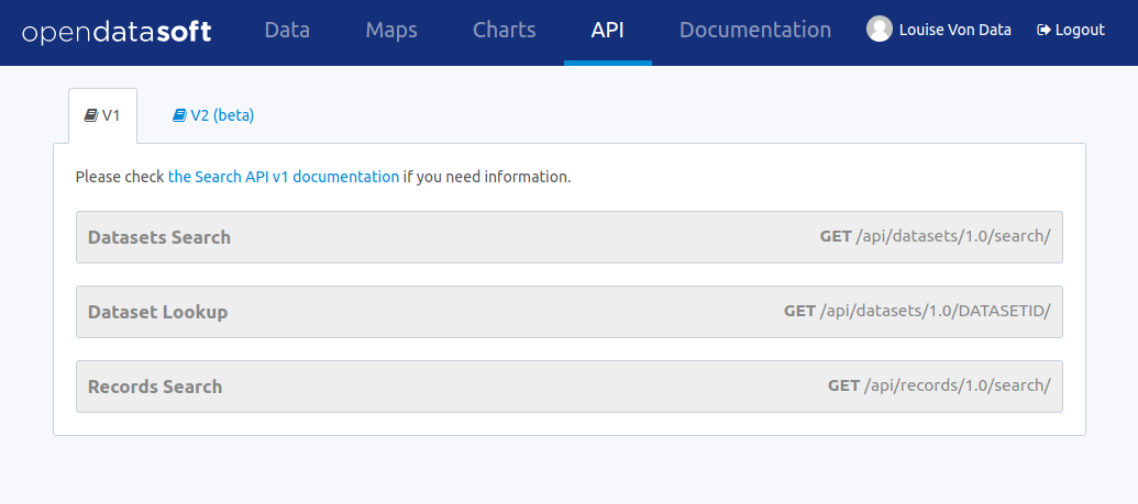 search-api-v1 – Opendatasoft - Search API v1 documentation