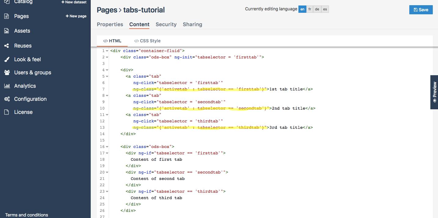 div class html